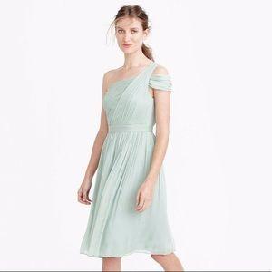 J.Crew Cara Bridesmaid Dress In Champagne Dress 8